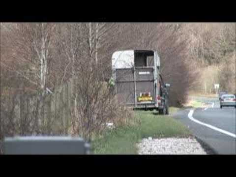Mcn News Police Hide Speed Camera In Horse Box Youtube