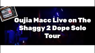 Oujia Macc Live on Shaggy 2 Dope Tour 01-09-2019 Ann Arbor