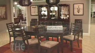 Well-designed Solid Wood Dining Room Set, 'tribecca' Collection By American Drew