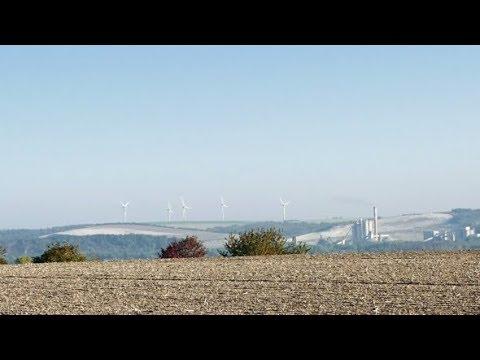 Wind Turbines Renewable Energy Generation | Stock Footage