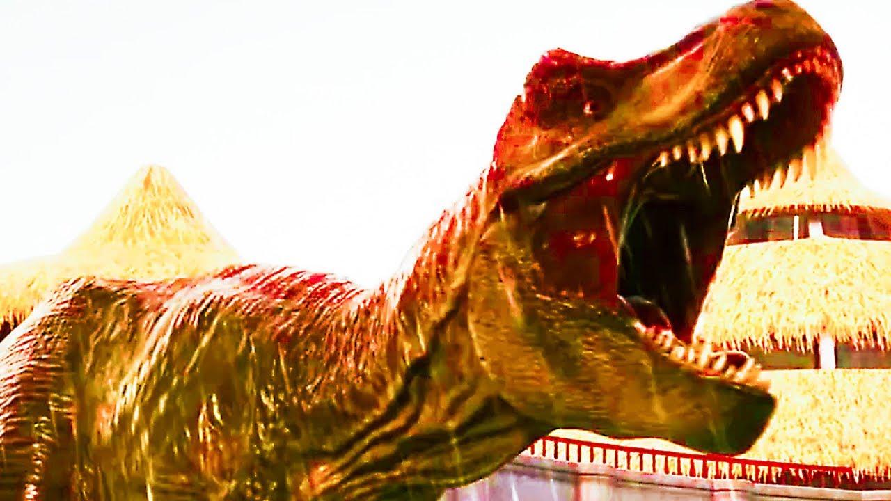 "Trailer de Jurassic WORD EVOLUTION ""Return to Jurassic Park"" (2019) Xbox One + vídeo"
