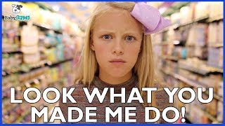 "Taylor Swift ""LOOK WHAT YOU MADE ME DO"" PARODY - Dad & Daughter Spoof"