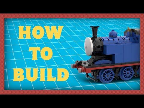 How to Build LEGO RWS Thomas the Tank Engine Mk II