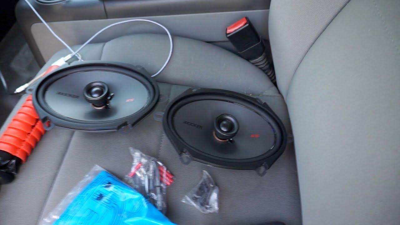 Installing New Door Speakers In My 2008 F 150 Kicker Ksc680 Youtube