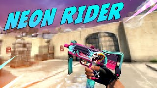 CS:GO - MAC-10 | Neon Rider Gameplay