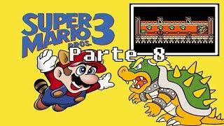 Super Mario Bros. 3 - Parte 8 - MUNDO DE LAVA... OU ÁGUA?
