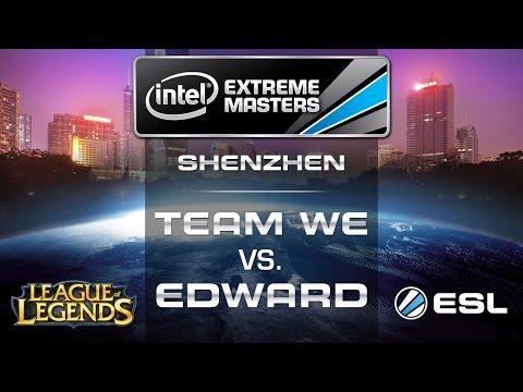 Team WE vs. Edward Gaming - Grand Final - IEM Shenzhen - League of Legends