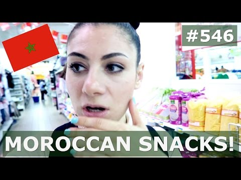 MOROCCO SUPERMARKET IN MARRAKECH DAY 546  | TRAVEL VLOG IV
