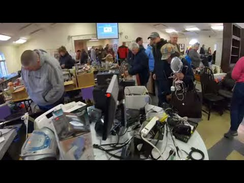 Hunting for Treasure at a Church Sale