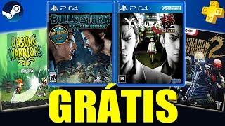 PSN PLUS NOVEMBRO VAZADA!!! CORREEE 2 Jogos GRÁTIS E Novo MINECRAFT???