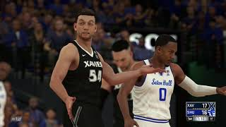 NBA 2K18 College Xavier Musketeers vs Seton Hall Pirates