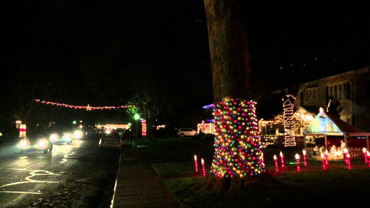 Sacramento Fab 40's Christmas Lights - YouTube