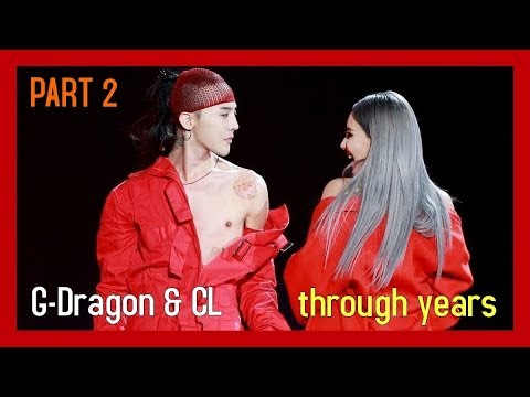 Skydragon PART 2 - G-Dragon & CL - through years [April 2014 - 2017]