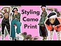 How To Style Camo Print Trend | A Camo Lookbook