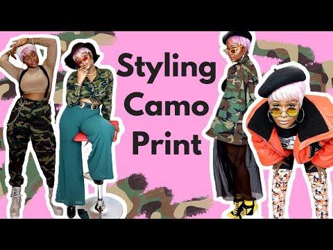 How To Style Camo Print Trend | A Camo Lookbook
