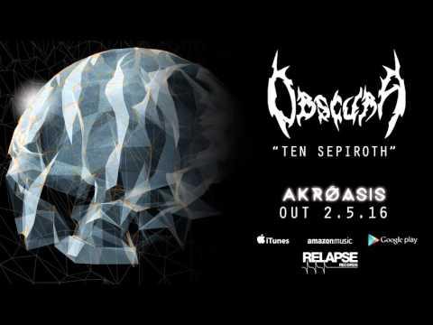 "OBSCURA - ""Ten Sepiroth"" (Official Track)"