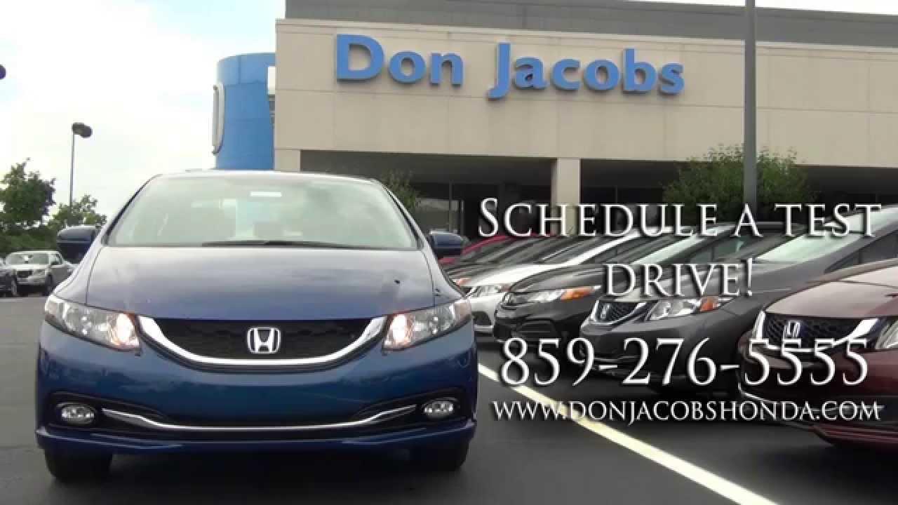 Don Jacobs Honda >> 2014 Honda Civic Sedan From Don Jacobs Honda In Lexington Ky