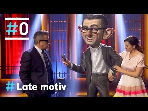 Late Motiv: El ninot de Andreu #LateMotiv200   #0