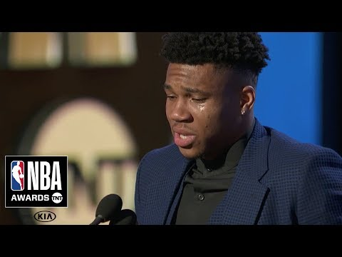 WATCH: Giannis Antetokounmpo named NBA MVP