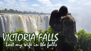 I LOST MY WIFE AT VICTORIA FALLS THE WAJESUS FAMILY