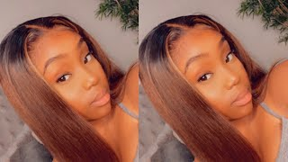HOW I RE-INSTALL MY LACE FRONT WIG + STYLING | FT. RPG HAIR PRE HIGHLIGHTED WIG