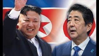 El Increíble Enfado del presidente de Japon Shinzo Abe con Kim Jon Un después de los ataques