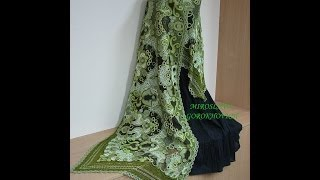���������� �������. ���� � ���������. �rochet shawls and stoles