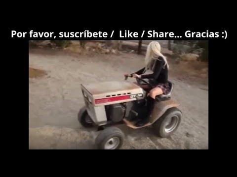 tractores locos -  niñas Conductor del tractor