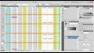 الدورة التطبيقية لتعليم التصميم بالإليستريتور - درس 27