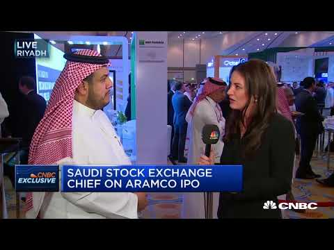 Saudi exchange welcomes Aramco IPO, says CEO | In The News