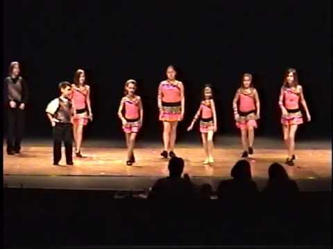 Hannahville Indian School Dance Rehearsal 2013