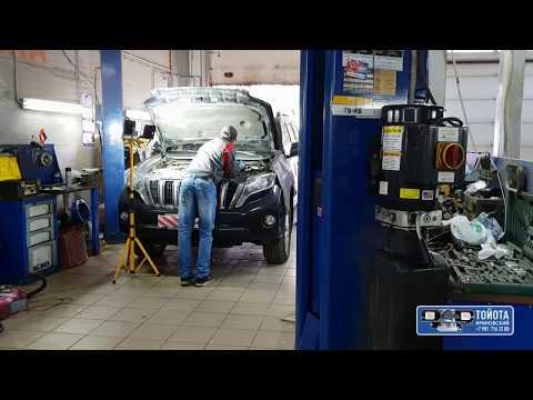 Отключение системы EGR на автомобиле TOYOTA LAND CRUISER PRADO 150 2014 г.в.