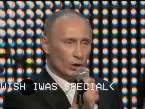 """Putin covers Radiohead's """"Creep"""""""