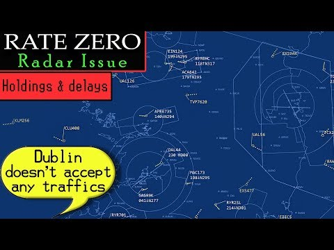 RADAR FAILURE FORCES TOTAL CLOSURE OF DUBLIN AIRPORT!