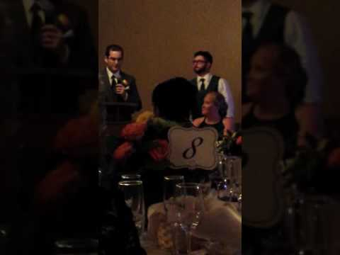 Lenny's wedding speech for Zac and Vanessa's Wedding