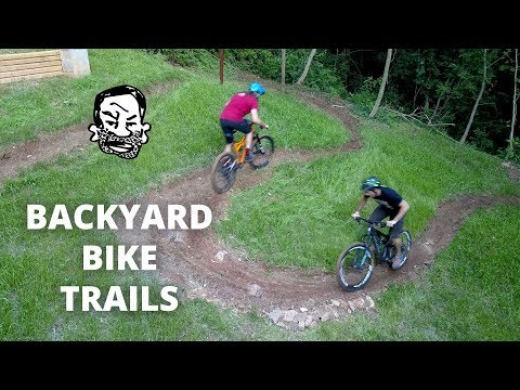 Backyard MTB Trails - Building & Riding!