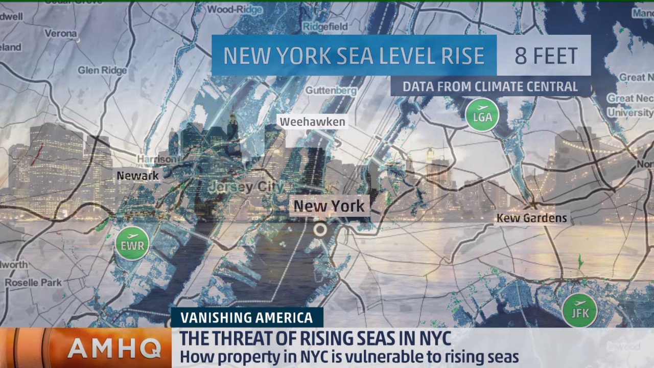 rising sea levels in new york View sea level rise and potential coastal flooding impact areas and relative depth view areas susceptible to high tide flooding, or nuisance flooding, and the number of historical flood events that have occurred the data and maps in this tool illustrate the scale of potential flooding, not the.