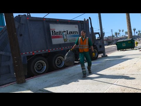 Los Santos Goes to Work - Day 1 - Trashman