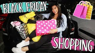 BLACK FRIDAY SHOPPING 2018