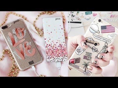 f8d2729b5e5 DIY Como hacer y decorar Fundas Caseras para Celulares / DIY Phone Cases  2018 fundas para iphone - samsung - huawei - BQ - sony - iphone 6 iphone 7  iphone 8 ...