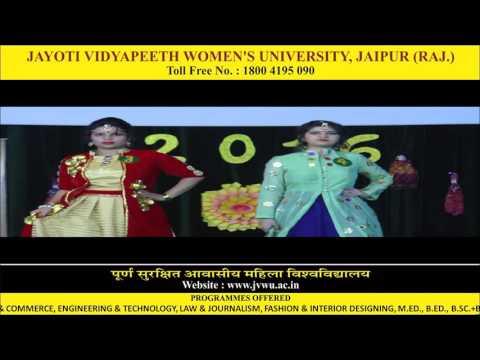 Jayoti Vidyapeeth - Jayoti Utsav Fashion Show 2016