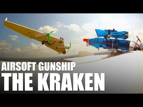 Airsoft Gunship - The Kraken | Flite Test