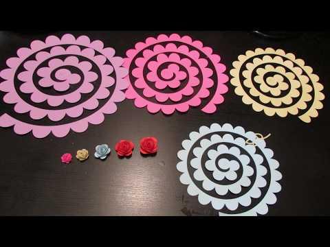 Cricut Maker | Size Guide For Paper Flowers
