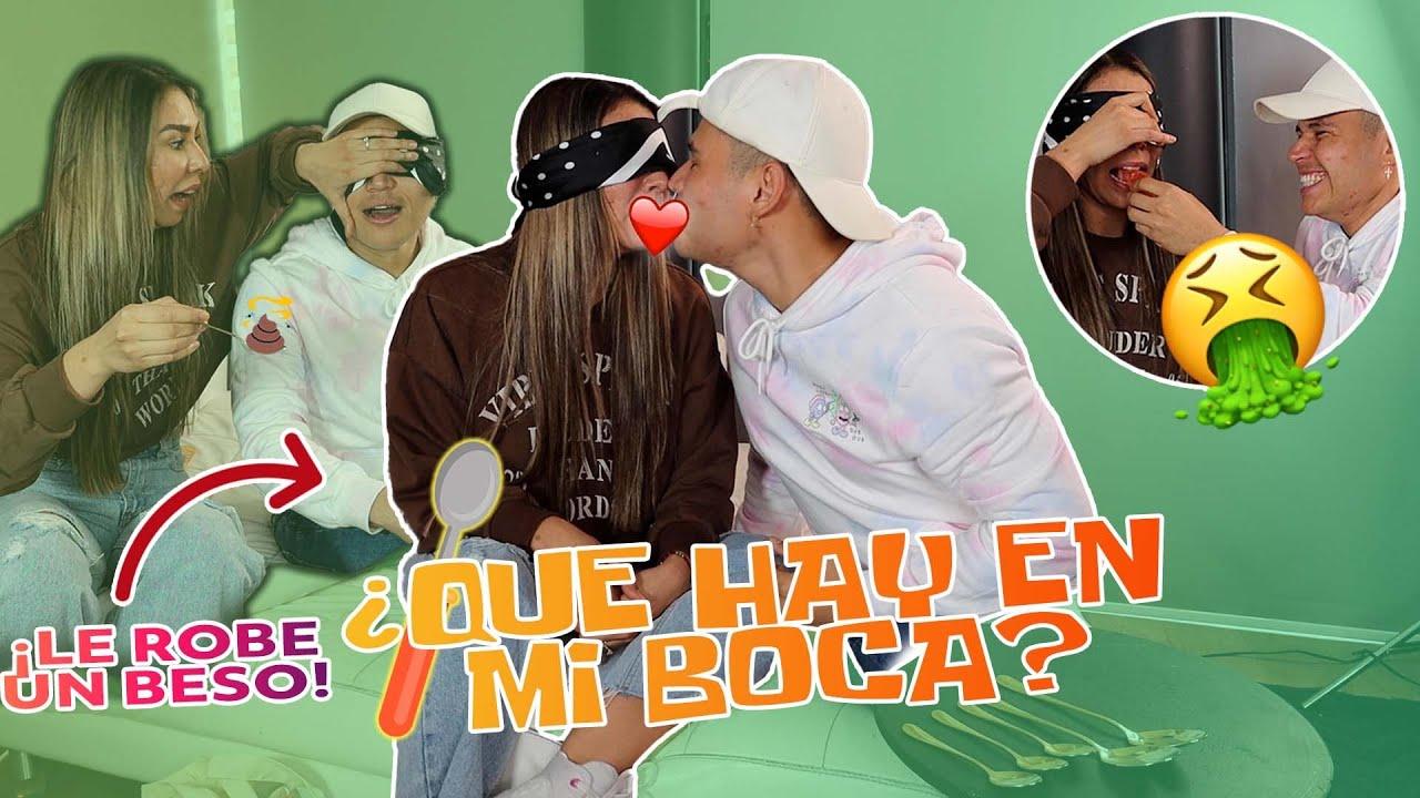 ¿NUESTRO PRIMER BESO? 😳 QUE HAY EN MI BOCA ft Cecia Loaiza ❤️