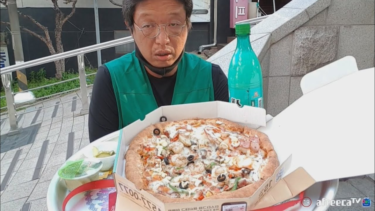 [피막] 피자+막걸리