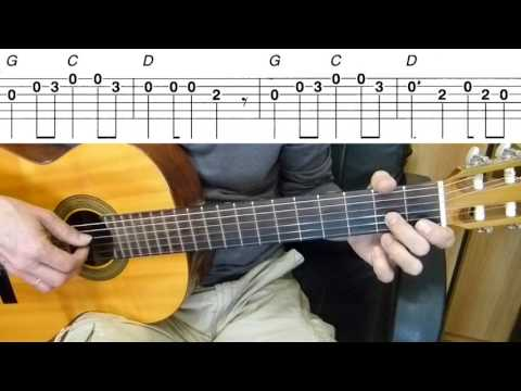 Guitar Lesson - One Direction - What Makes You Beautiful - Easy Guitar Melody Tutorial + TAB