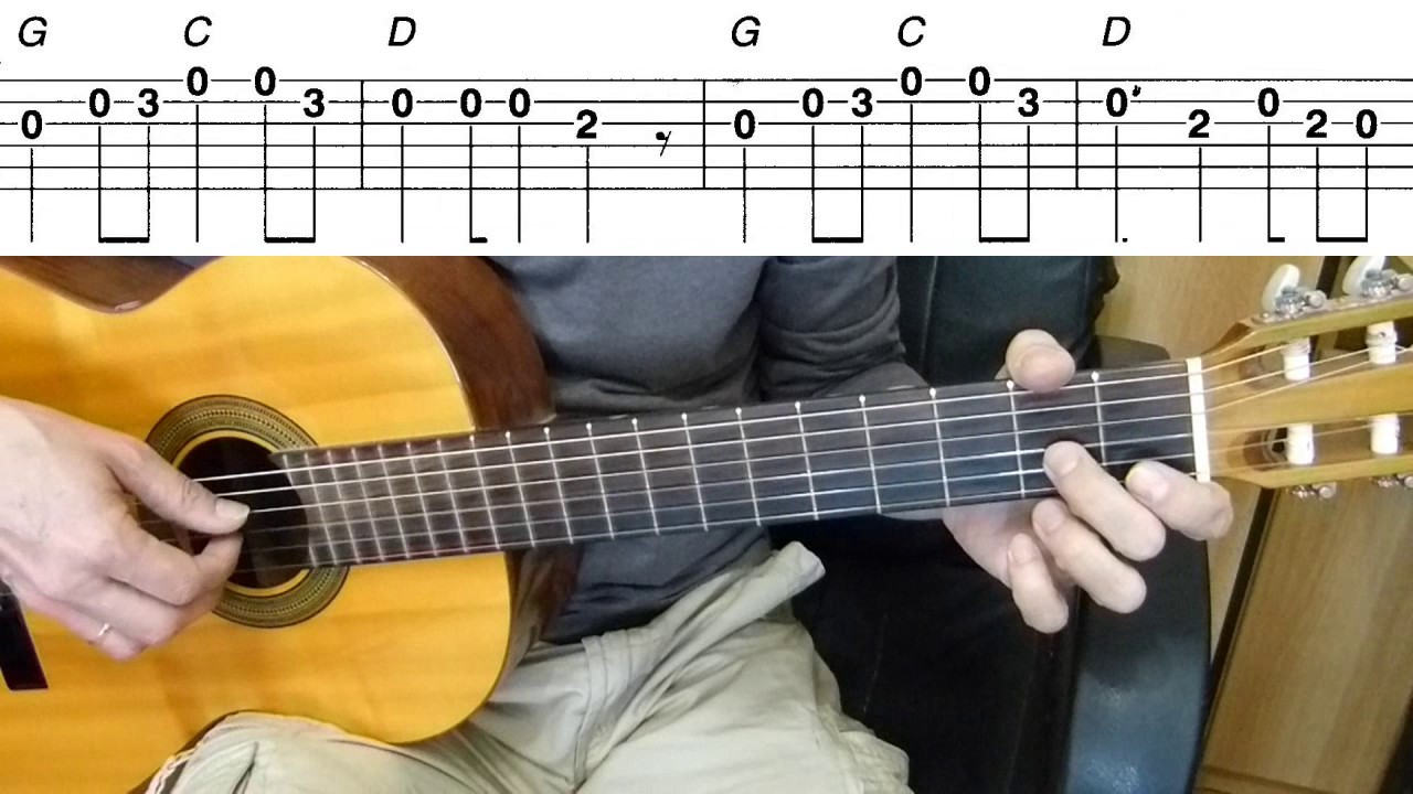 Guitar Lesson One Direction What Makes You Beautiful Easy