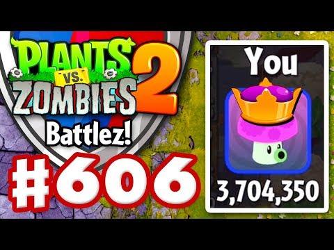 BATTLEZ! New High Score! 3.7 Million! - Plants vs. Zombies 2 - Gameplay Walkthrough Part 606
