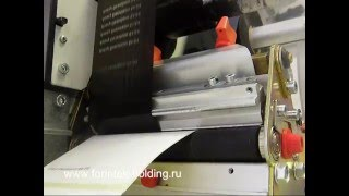 видео Красящая термотрансферная лента