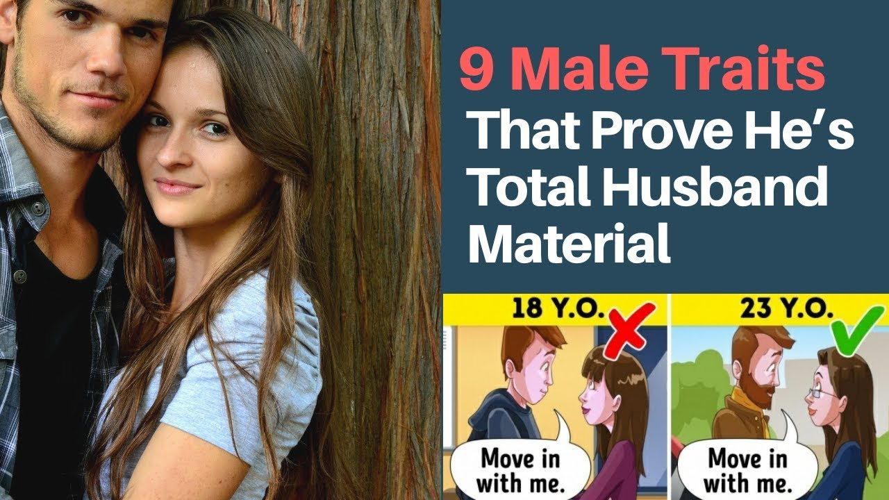 9Male Traits That Prove He's Total Husband Material